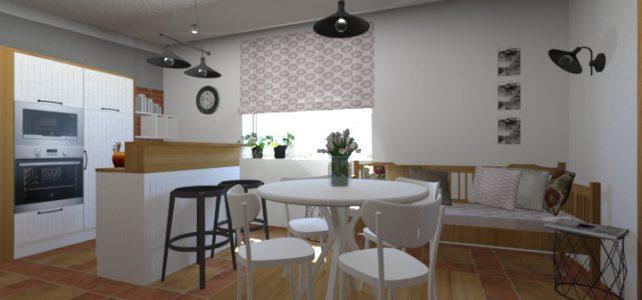 Interiér – kuchyň s vůní tradic